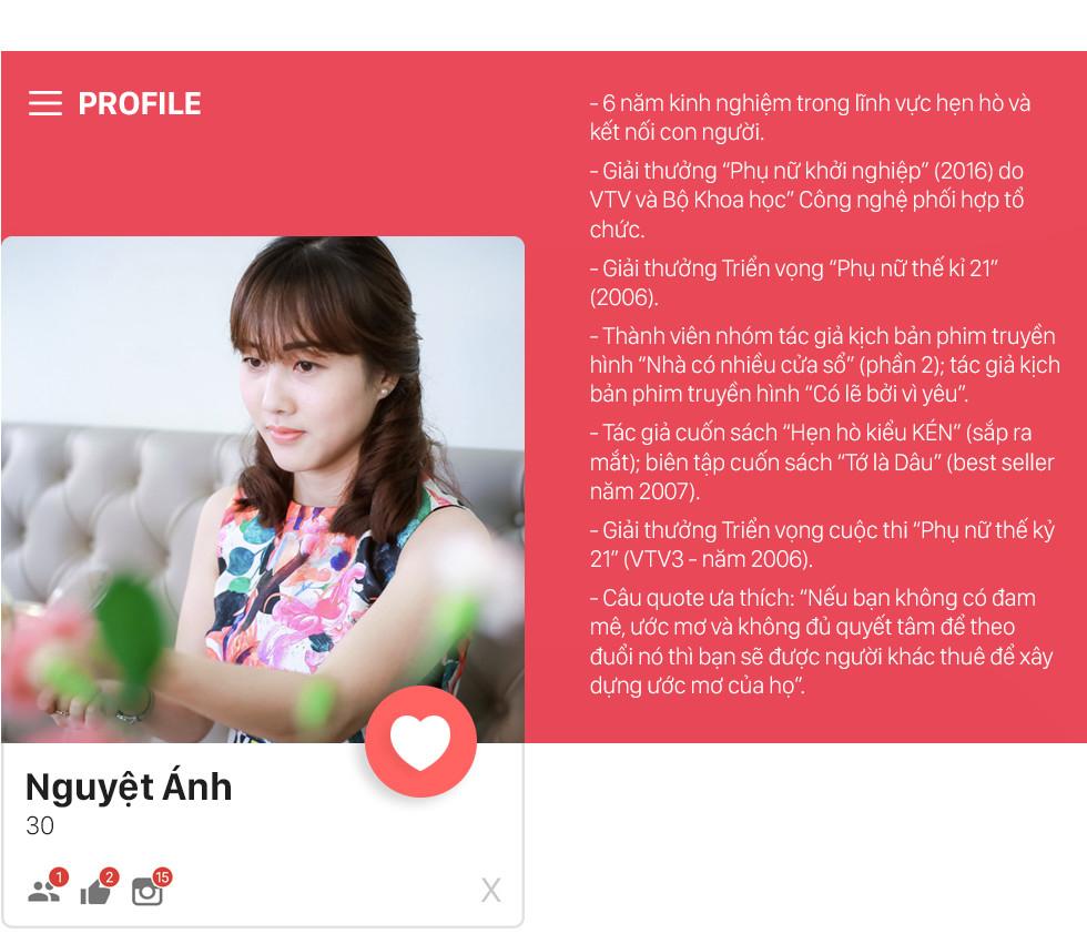 Vũ Nguyệt Ánh, CEO của app hẹn hò kén chọn nhất Việt Nam: Tôi đánh đổi an toàn để đi con đường mình chọn - Ảnh 2.