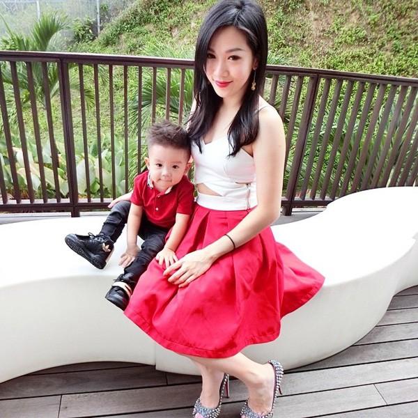 Cuộc sống như mơ của hot mom 2 con xinh đẹp: Sự nghiệp đình đám, chồng chiều, con siêu đáng yêu - Ảnh 10.