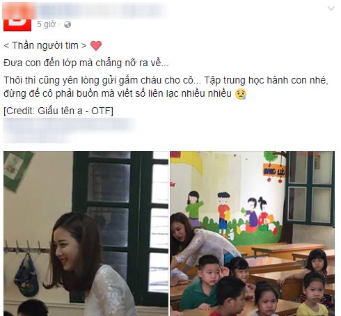 Từ một bức ảnh chụp lén, lộ diện cô giáo tiểu học xinh nhất Vịnh Bắc Bộ đang làm cộng đồng mạng chao đảo - Ảnh 1.