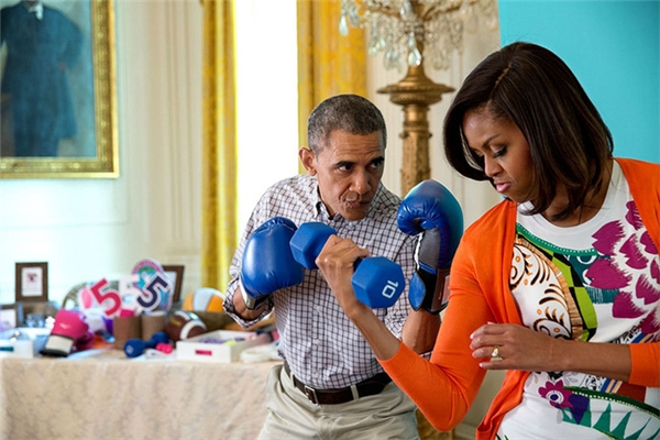 Lấy em là điều đúng đắn nhất trong cuộc đời anh lời chia sẻ lịm tim Obama dành cho vợ sau 25 năm kết hôn - Ảnh 4.
