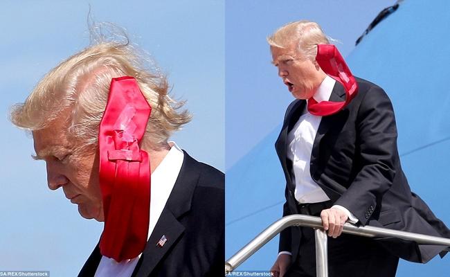 Cà vạt của Tổng thống Donald Trump luôn được cố định gọn gàng và đây là lý do tại sao - Ảnh 1.