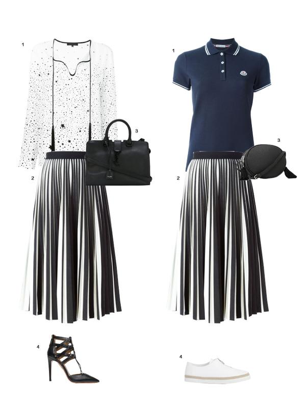 Gợi ý mix đồ đẹp đủ mọi đường với 5 thiết kế chân váy midi quen thuộc - Ảnh 1.