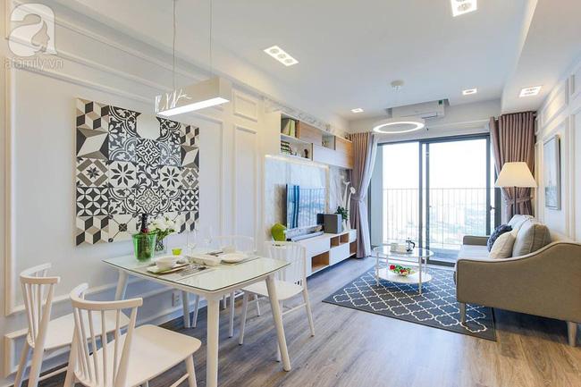 Căn hộ 65m² khi kê đủ nội thất trông rộng hơn lúc nhận nhà với chi phí 2,8 tỉ đồng ở khu Thảo Điền - Ảnh 2.