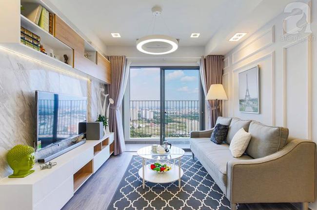 Căn hộ 65m² khi kê đủ nội thất trông rộng hơn lúc nhận nhà với chi phí 2,8 tỉ đồng ở khu Thảo Điền - Ảnh 3.