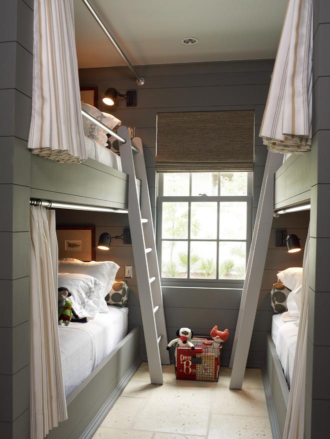 11 mẫu giường tầng đẹp, gọn cực đáng tham khảo cho những gia đình nhà chật mà đông con - Ảnh 7.