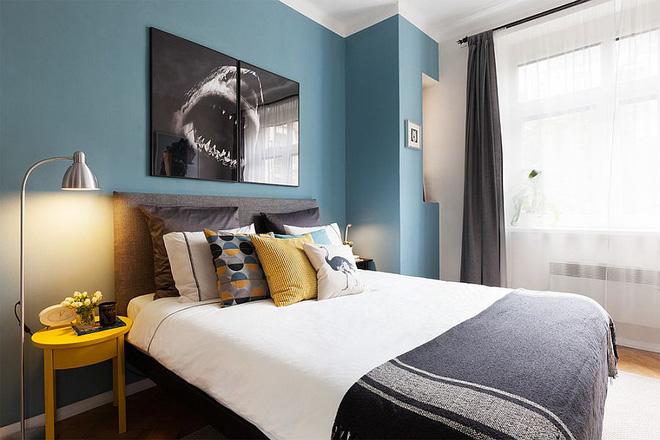 Sau cải tạo, căn hộ 45m² này đã có những bước tiến ngoạn mục về cả thẩm mỹ lẫn công năng - Ảnh 5.