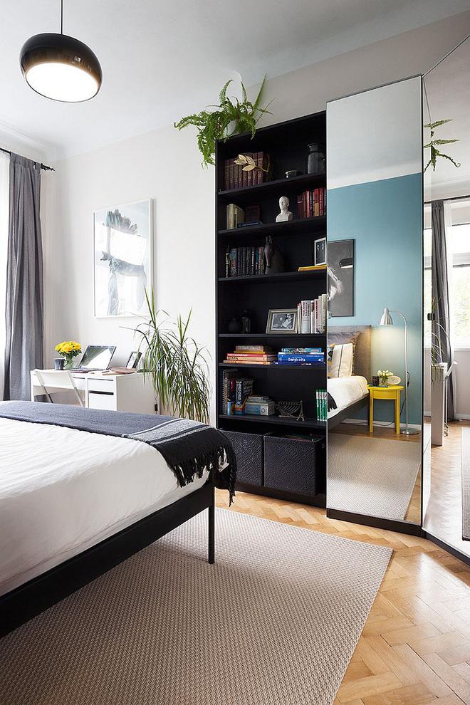 Sau cải tạo, căn hộ 45m² này đã có những bước tiến ngoạn mục về cả thẩm mỹ lẫn công năng - Ảnh 6.