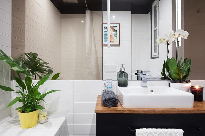 Sau cải tạo, căn hộ 45m² này đã có những bước tiến ngoạn mục về cả thẩm mỹ lẫn công năng - Ảnh 8.