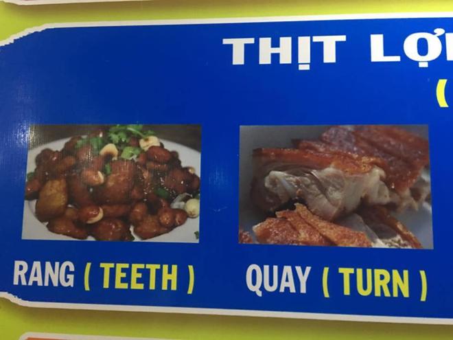 Thực đơn hot nhất Facebook hôm nay: Google dịch tên món ăn Việt - Anh sai be bét khiến người xem không nhịn được cười - Ảnh 2.
