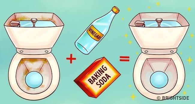 Làm sạch nhà tắm: Đổ giấm vào bồn cầu và xem điều kỳ diệu gì sẽ xảy ra nhé! - Ảnh 2.