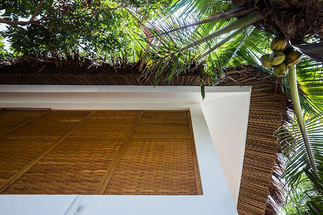 Mê mẩn với ngôi nhà vườn lợp mái lá dừa đẹp ngang khu nghỉ dưỡng cao cấp - Ảnh 4