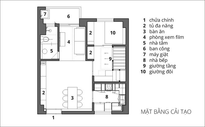 Căn hộ 65m² trắng tinh khôi ở Hà Nội do chính chàng KTS 8x thiết kế cho gia đình mình - Ảnh 22.