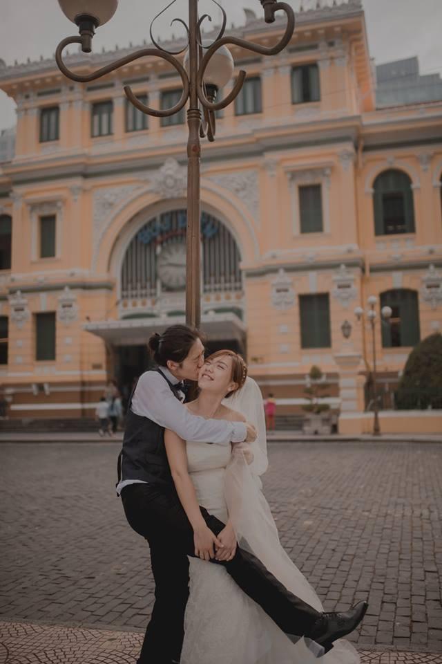 Đứng ngồi không yên trước bộ ảnh cưới đẹp như mơ chụp tại Việt Nam của cặp đôi Đài Loan - Ảnh 4.