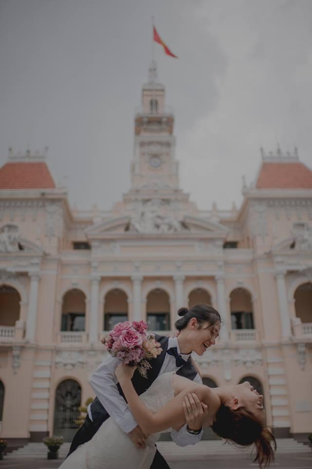 Đứng ngồi không yên trước bộ ảnh cưới đẹp như mơ chụp tại Việt Nam của cặp đôi Đài Loan - Ảnh 12.