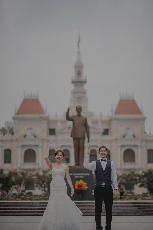 Đứng ngồi không yên trước bộ ảnh cưới đẹp như mơ chụp tại Việt Nam của cặp đôi Đài Loan - Ảnh 13.