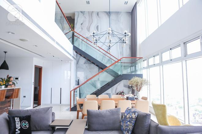 Căn hộ penthouse 300m² với hướng nhìn ra sông Hồng tuyệt đẹp của nữ giám đốc thời  trang - Ảnh 2.