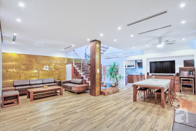 Căn biệt thự 110m² vừa xanh, vừa sang khiến nhiều người mơ ước ở Yên Hòa, Hà Nội - Ảnh 4.