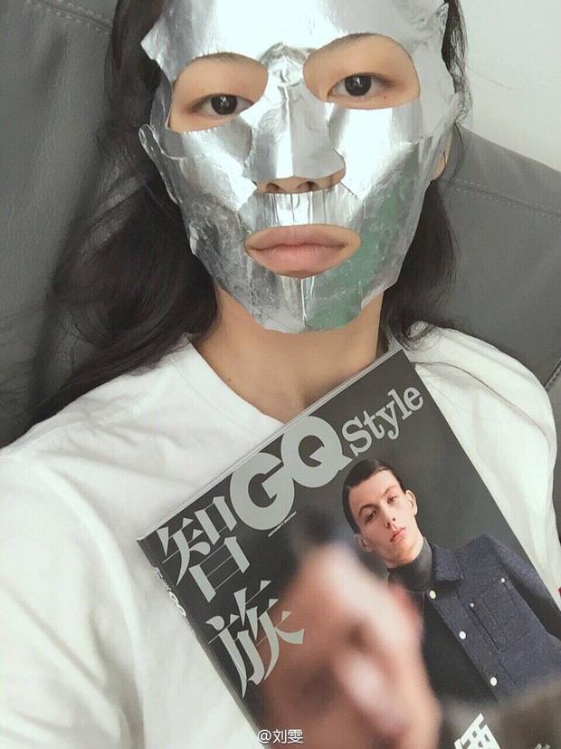 Loạt người đẹp Châu Á sử dụng mặt nạ giấy như 1 bước chăm sóc da hàng ngày - Ảnh 8.