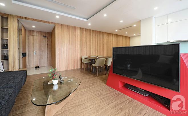 Với 350 triệu, căn hộ ở quận Thanh Xuân đã lột xác hoàn toàn theo yêu cầu rẻ, đẹp, hiện đại của gia chủ - Ảnh 1.