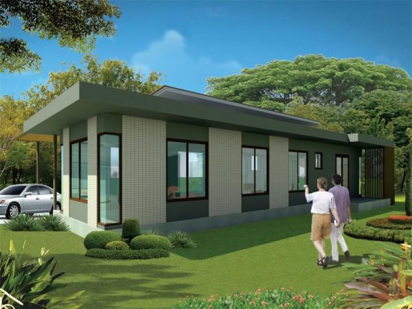 Chẳng cần cao tầng, 9 ngôi nhà 1 tầng này cũng đủ khiến bạn hài lòng về cả thiết kế lẫn công năng - Ảnh 2.