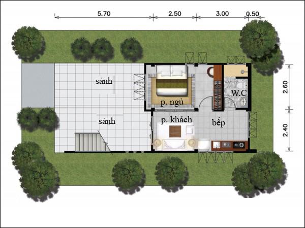 Chẳng cần cao tầng, 9 ngôi nhà 1 tầng này cũng đủ khiến bạn hài lòng về cả thiết kế lẫn công năng - Ảnh 4.