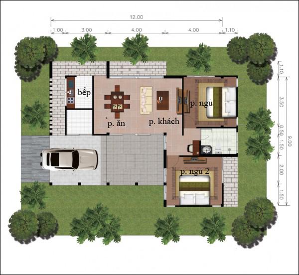 Chẳng cần cao tầng, 9 ngôi nhà 1 tầng này cũng đủ khiến bạn hài lòng về cả thiết kế lẫn công năng - Ảnh 18.