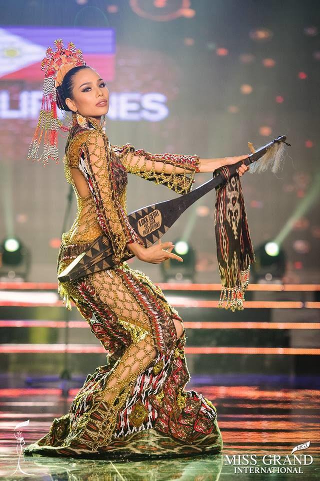 Huyền My xuất sắc đứng đầu bình chọn phần thi Trang phục Dân tộc - Ảnh 4.