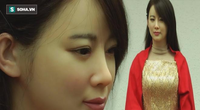 Tiết lộ: Vì sao robot Sophia thô và xấu, không đẹp như Jia Jia của Trung Quốc? - Ảnh 1.