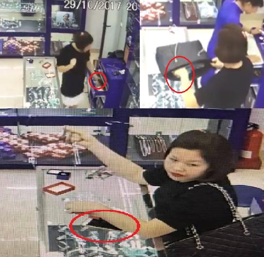 Hà Nội: Truy tìm hot girl vờ mua trang sức rồi cuỗm điện thoại - Ảnh 1.