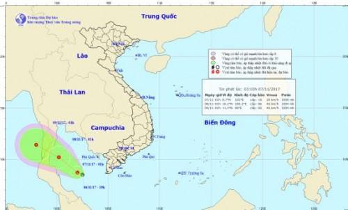 Dự báo thời tiết 7/11: Khả năng lũ chồng lũ tại miền Trung, xuất hiện áp thấp ở vịnh Thái Lan - Ảnh 1.