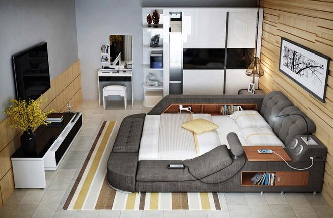 Có chiếc giường đa năng chất thế này thì chỉ muốn nằm lì cả ngày để tận hưởng - Ảnh 8.