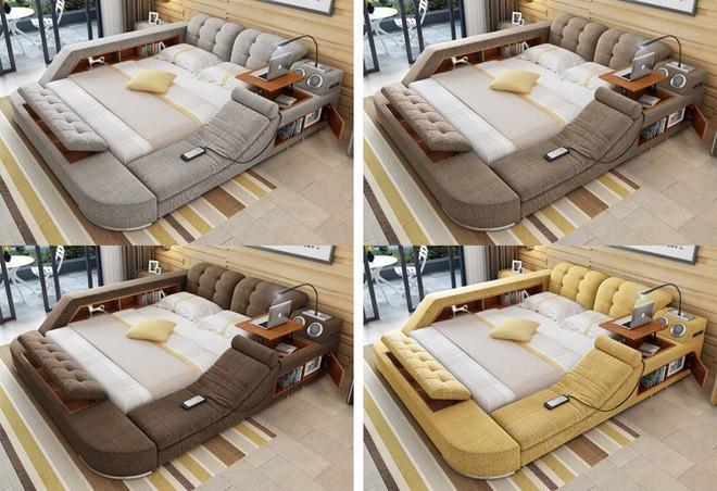 Có chiếc giường đa năng chất thế này thì chỉ muốn nằm lì cả ngày để tận hưởng - Ảnh 11.