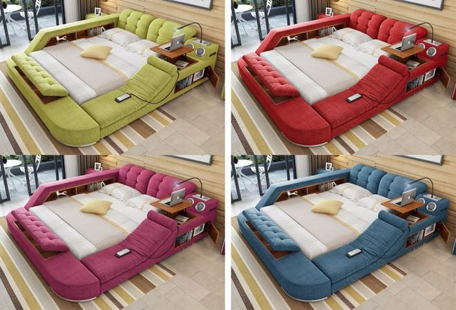 Có chiếc giường đa năng chất thế này thì chỉ muốn nằm lì cả ngày để tận hưởng - Ảnh 12.