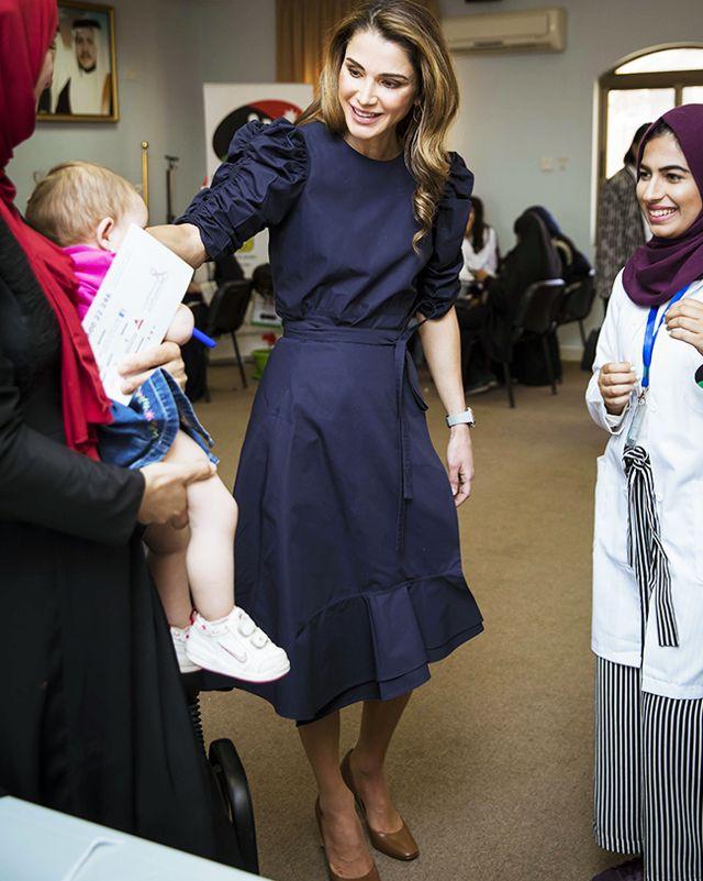 Hoàng hậu xứ Jordan - Biểu tượng của sắc đẹp, trí tuệ và phong cách thời trang của thế giới - Ảnh 5.