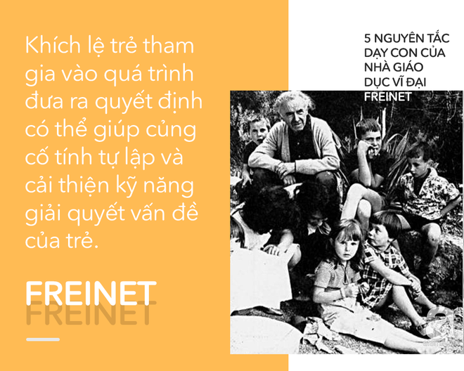 5 nguyên tắc dạy con của nhà giáo dục vĩ đại Freinet giúp thay đổi cuộc đời của một đứa trẻ - Ảnh 4.
