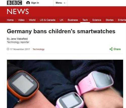 Đồng hồ thông minh cho trẻ em bị cấm ở nhiều nước vì một số có gắn thiết bị nghe lén - Ảnh 1.