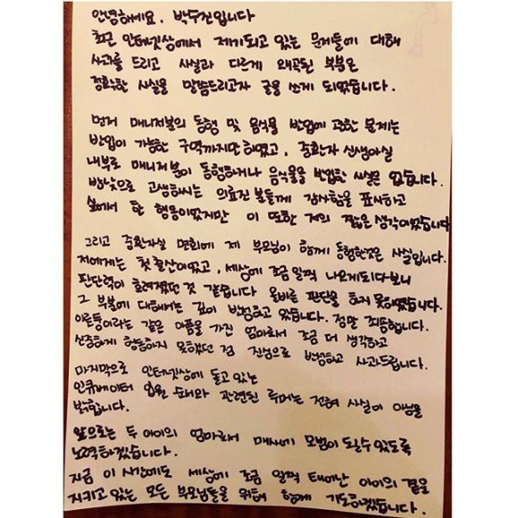 Đang bầu bí em bé thứ 2 nhưng bà xã Bae Yong Joon vẫn bị chỉ trích thậm tệ  - Ảnh 1.