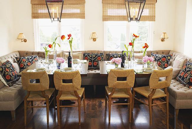 29 mẫu bàn ghế ăn khiến phòng ăn nhà bạn từ nhỏ hóa rộng thênh thang - Ảnh 11.