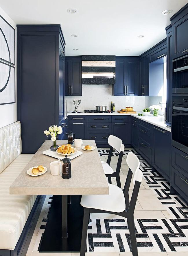 29 mẫu bàn ghế ăn khiến phòng ăn nhà bạn từ nhỏ hóa rộng thênh thang - Ảnh 12.