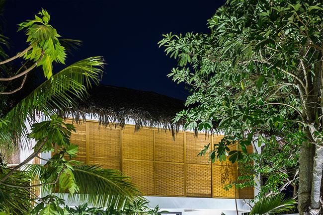 Mê mẩn với ngôi nhà vườn lợp mái lá dừa đẹp ngang khu nghỉ dưỡng cao cấp - Ảnh 14
