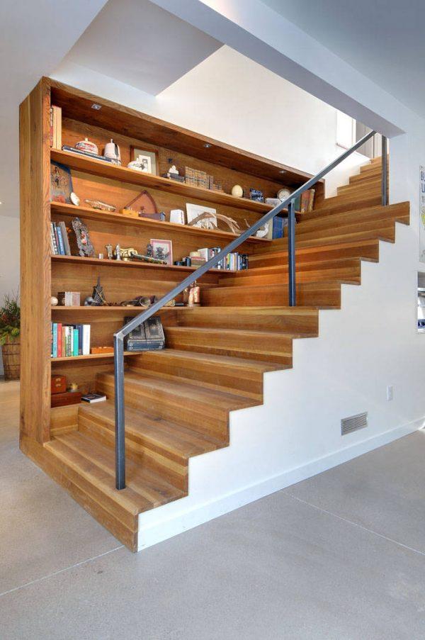 20 thiết kế giá sách kết hợp với cầu thang vô cùng đẹp mắt - Ảnh 13.