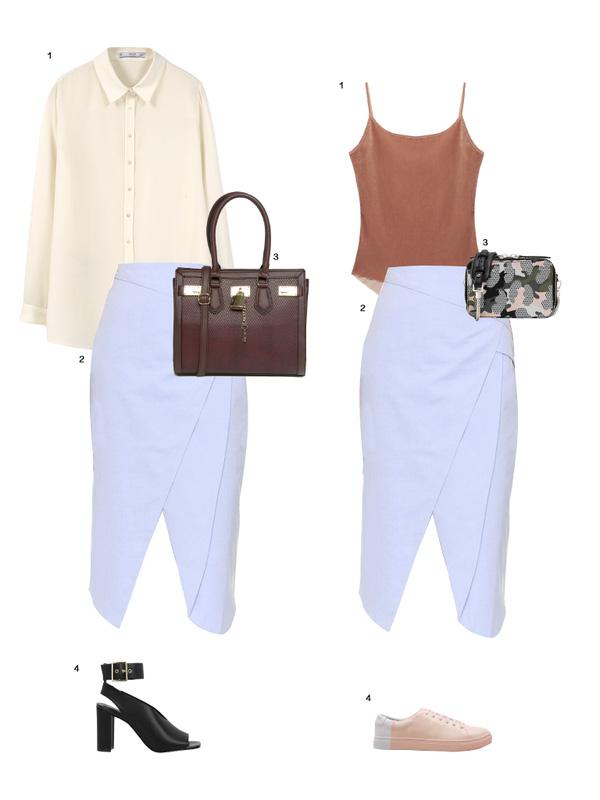 Gợi ý mix đồ đẹp đủ mọi đường với 5 thiết kế chân váy midi quen thuộc - Ảnh 12.