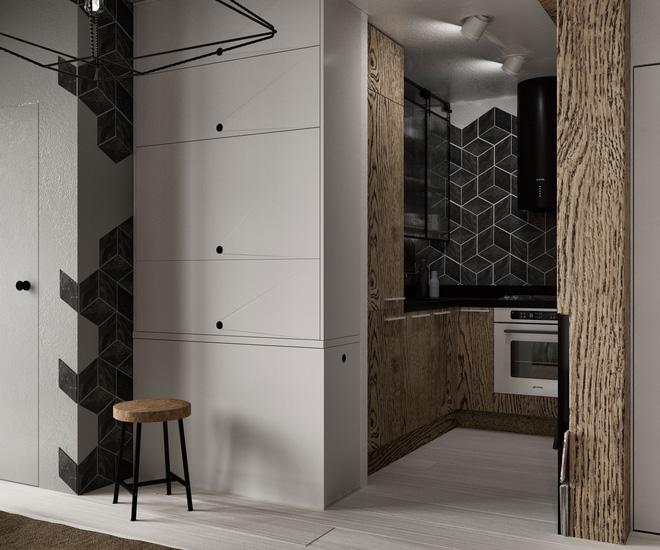 Hai căn hộ 35m² với phong cách trang trí công nghiệp nhưng lãng mạn đến khó tin - Ảnh 16.