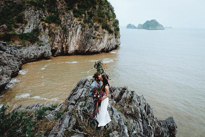 Đám cưới bí mật đẹp như mơ có 1-0-2 của cặp đôi Tây bỏ trốn trên đảo Cát Bà - Ảnh 23.