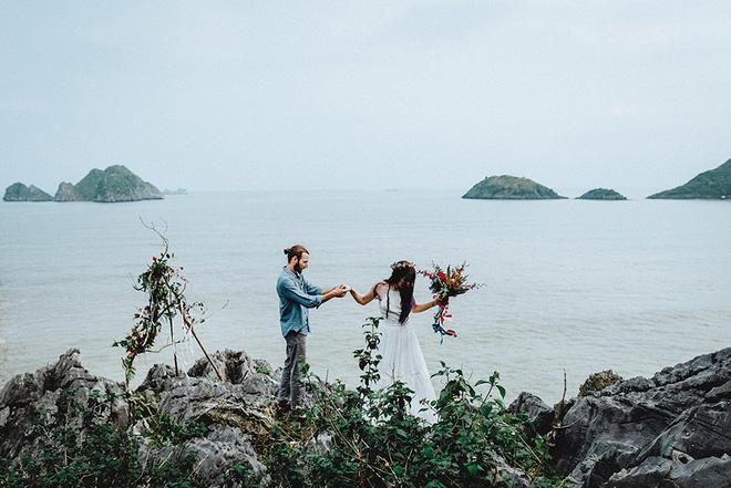Đám cưới bí mật đẹp như mơ có 1-0-2 của cặp đôi Tây bỏ trốn trên đảo Cát Bà - Ảnh 24.