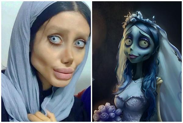Trước khi phẫu thuật thẩm mỹ 50 lần, cô gái có gương mặt giống Angelina Jolie đã từng xinh đẹp như thế này - Ảnh 3.