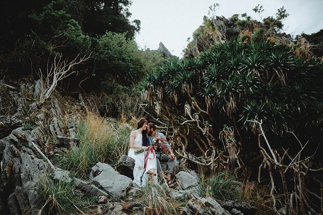 Đám cưới bí mật đẹp như mơ có 1-0-2 của cặp đôi Tây bỏ trốn trên đảo Cát Bà - Ảnh 26.