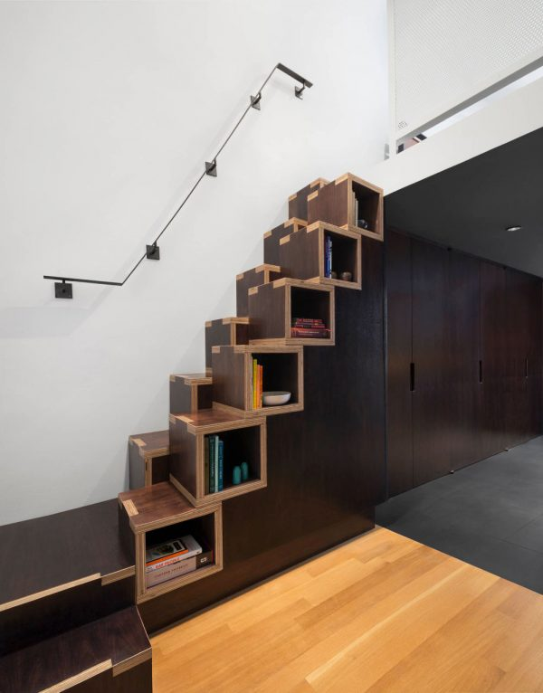 20 thiết kế giá sách kết hợp với cầu thang vô cùng đẹp mắt - Ảnh 5.
