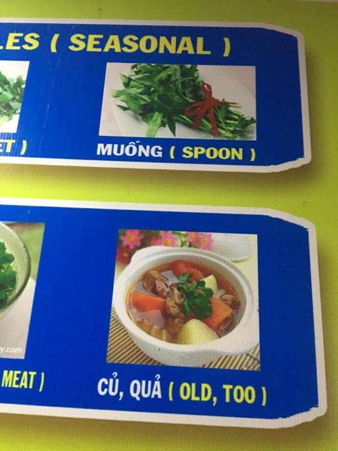 Thực đơn hot nhất Facebook hôm nay: Google dịch tên món ăn Việt - Anh sai be bét khiến người xem không nhịn được cười - Ảnh 5.