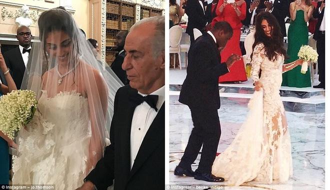 Đám cưới sang chảnh với 1 triệu bông hồng của con trai tỷ phú da màu giàu nhất thế giới - Ảnh 5.